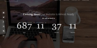 Horizon - Responsive Coming Soon Template HTML5
