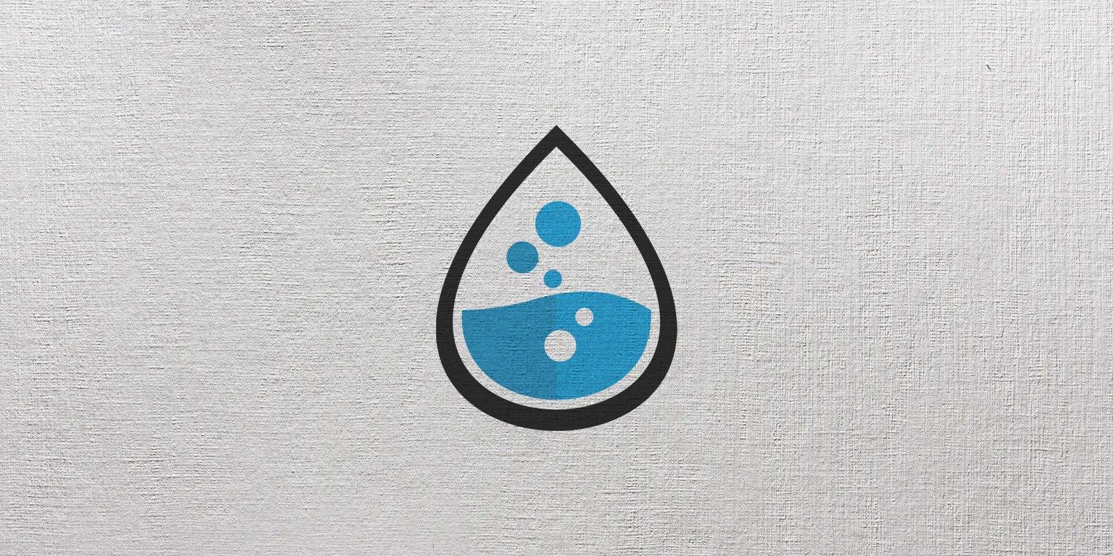 Drop Lab Logo Template