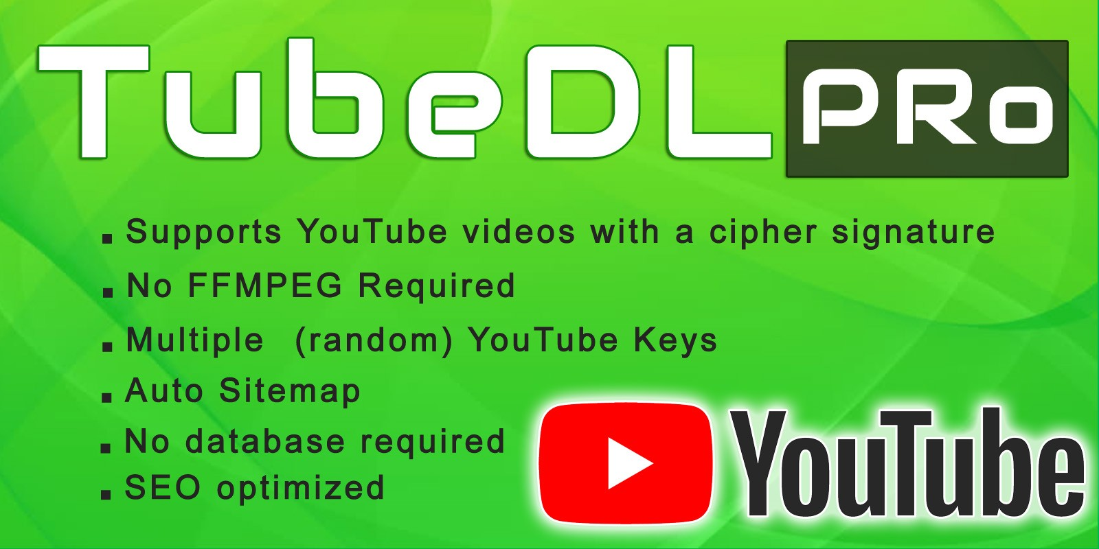 Tubedl Pro - Youtube Video Downloader PHP