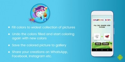 Coloring Book For Kids - Android Source Code