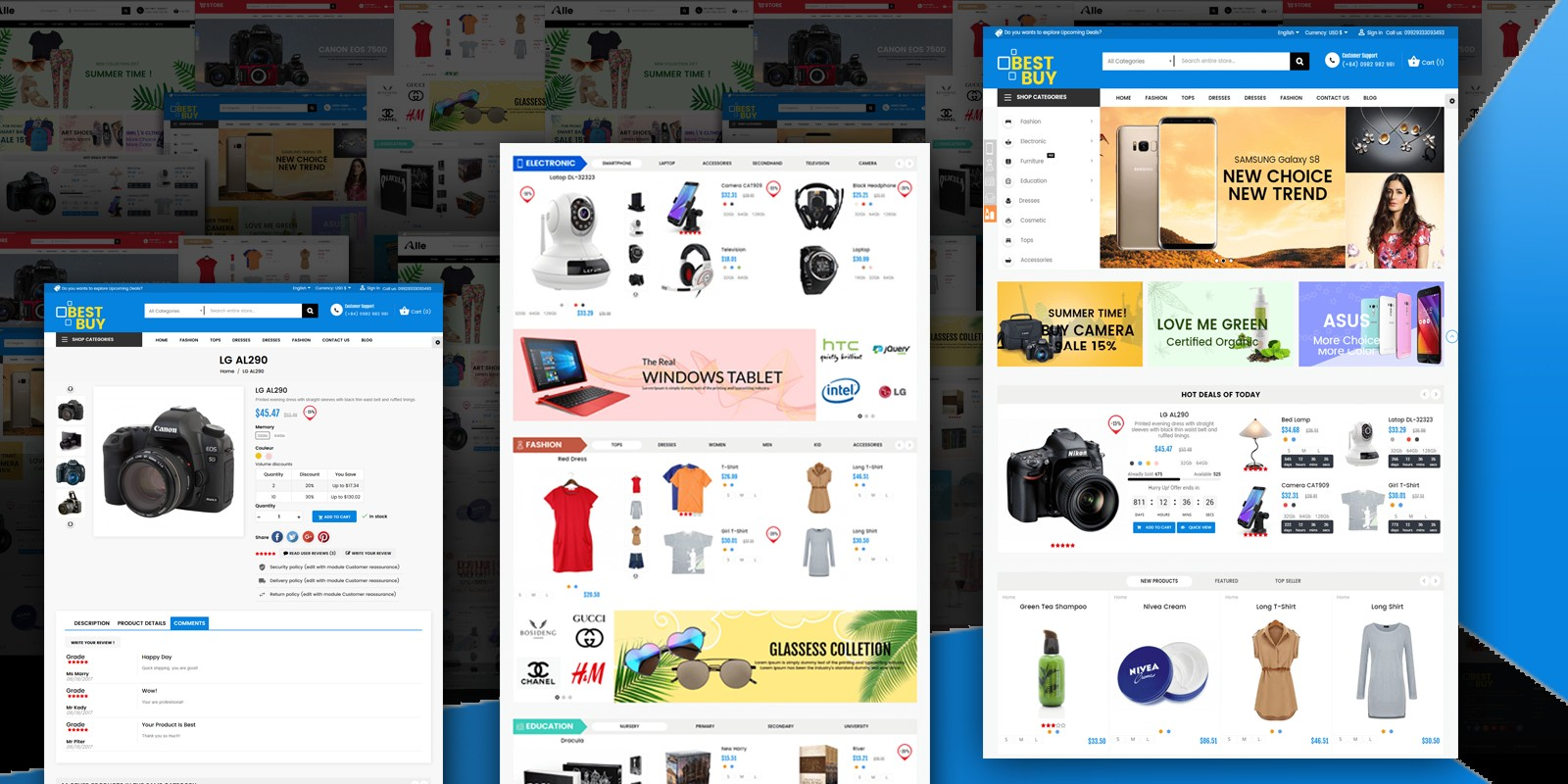 Best Buy PrestaShop Theme