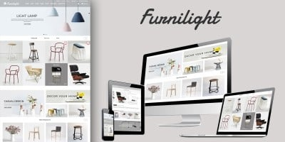 Furniture Light PrestaShop Theme