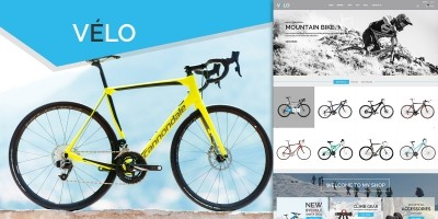 VeLo - Bike Sport Store PrestaShop Theme