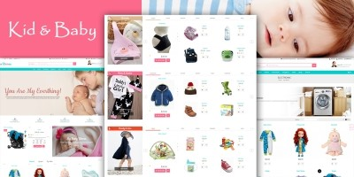 Mom Baby And Kids Toys PrestaShop Theme