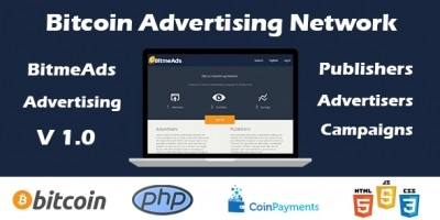 BItmeAds - Bitcoin Advertising Network PHP Script