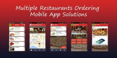 Multiple Social Restaurants - Android App Template