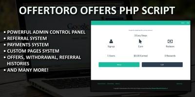 Offertoro Offers PHP Script