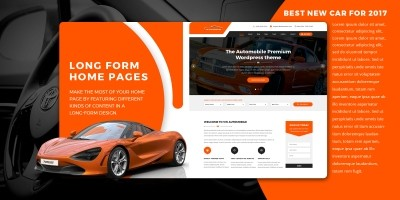 VW Automobile Pro - WordPress Theme