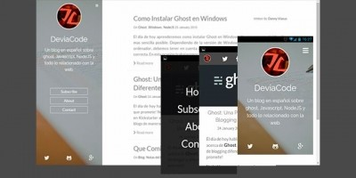 Stone Clarity - Responsive Ghost Theme