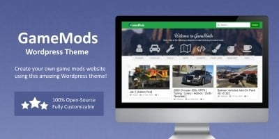 GameMods Theme - Game Modding Wordpress Theme
