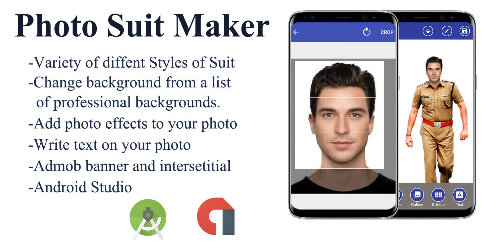Photo Suit Maker - Android Source Code