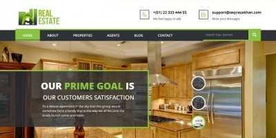 Real Estate Agency HTML Template
