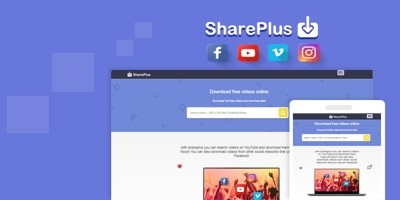 Shareplus - Youtube Facebook Video Downloader