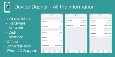 Device Dasher - iOS Source Code