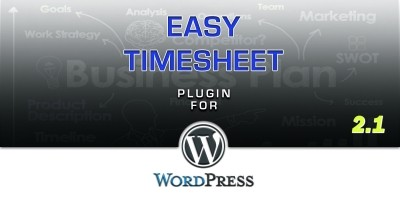 Easy Timesheet Plugin For WordPress