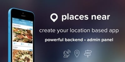Places Near - Location Based iPhone App Template