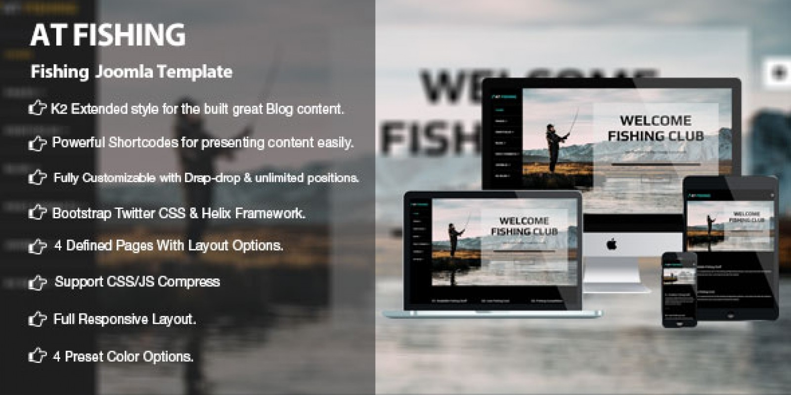 AT Fishing - Responsive Fishing Joomla Template