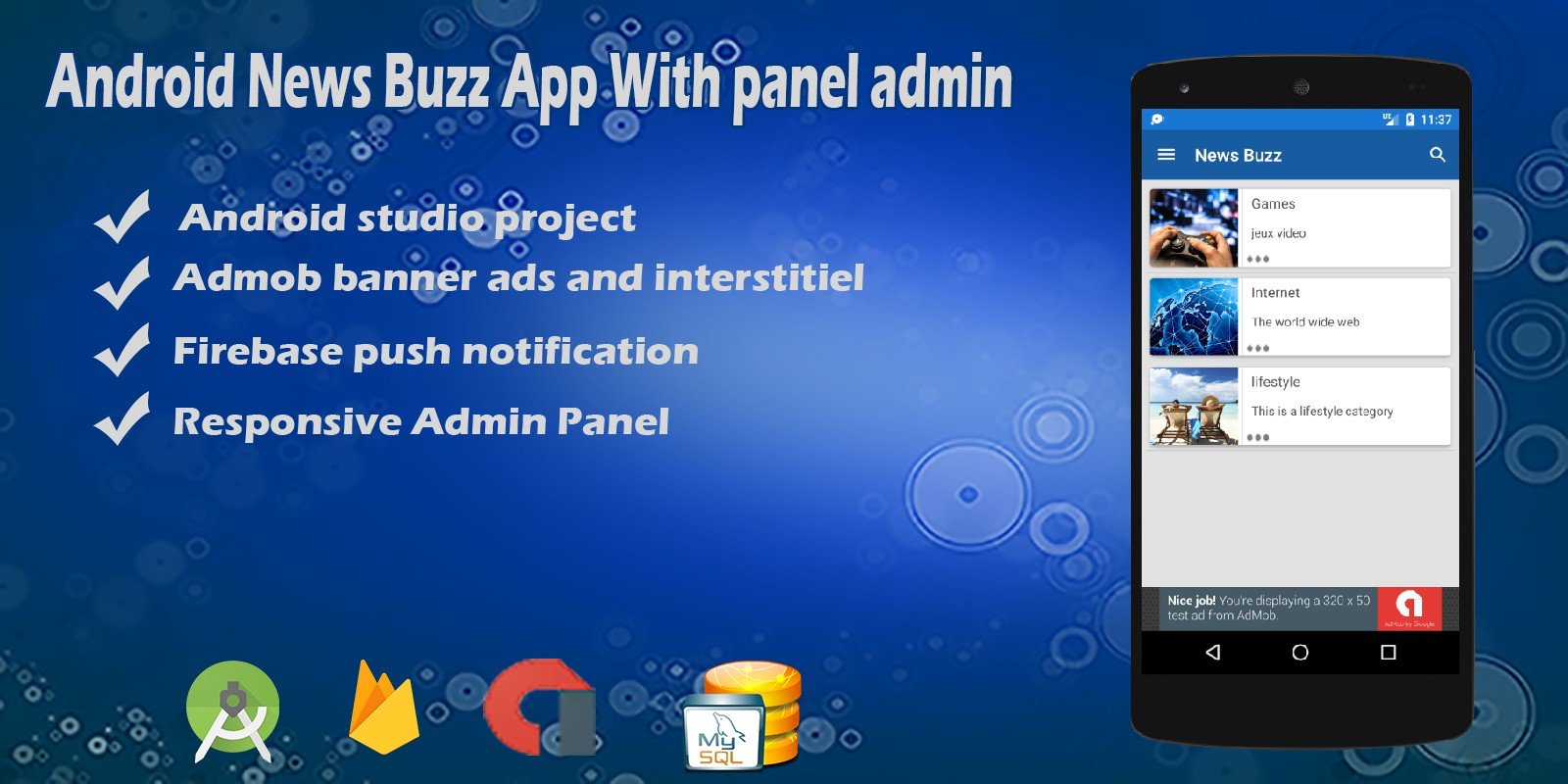 Android News Buzz App