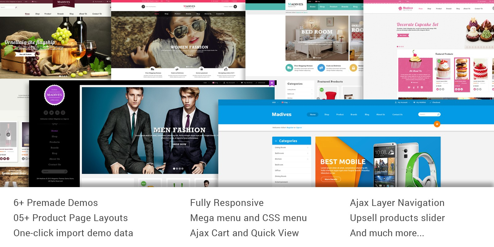 SM Madives - Responsive Multipurpose Magento Theme