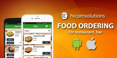 Food Order App Source Code And PHP Backend | Codester