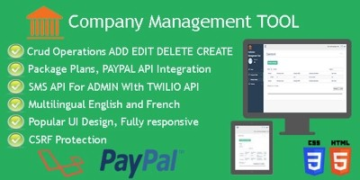 Company Management Tool - PHP Script