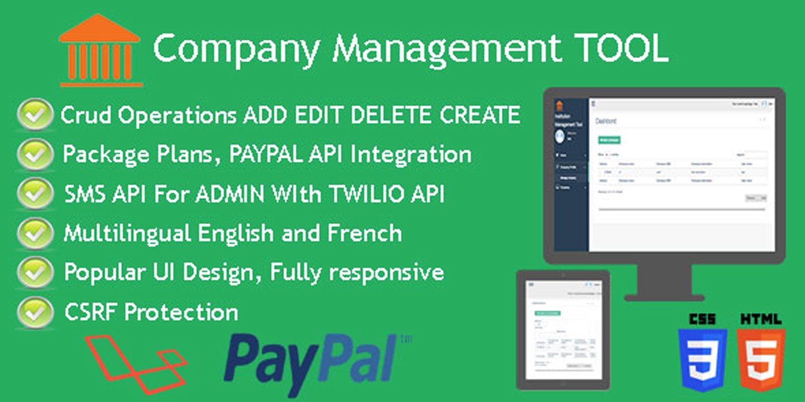 Company management tool php script miscellaneous php scripts company management tool php script baditri Images