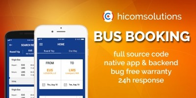 Bus Ticket Booking - Android App Source Code