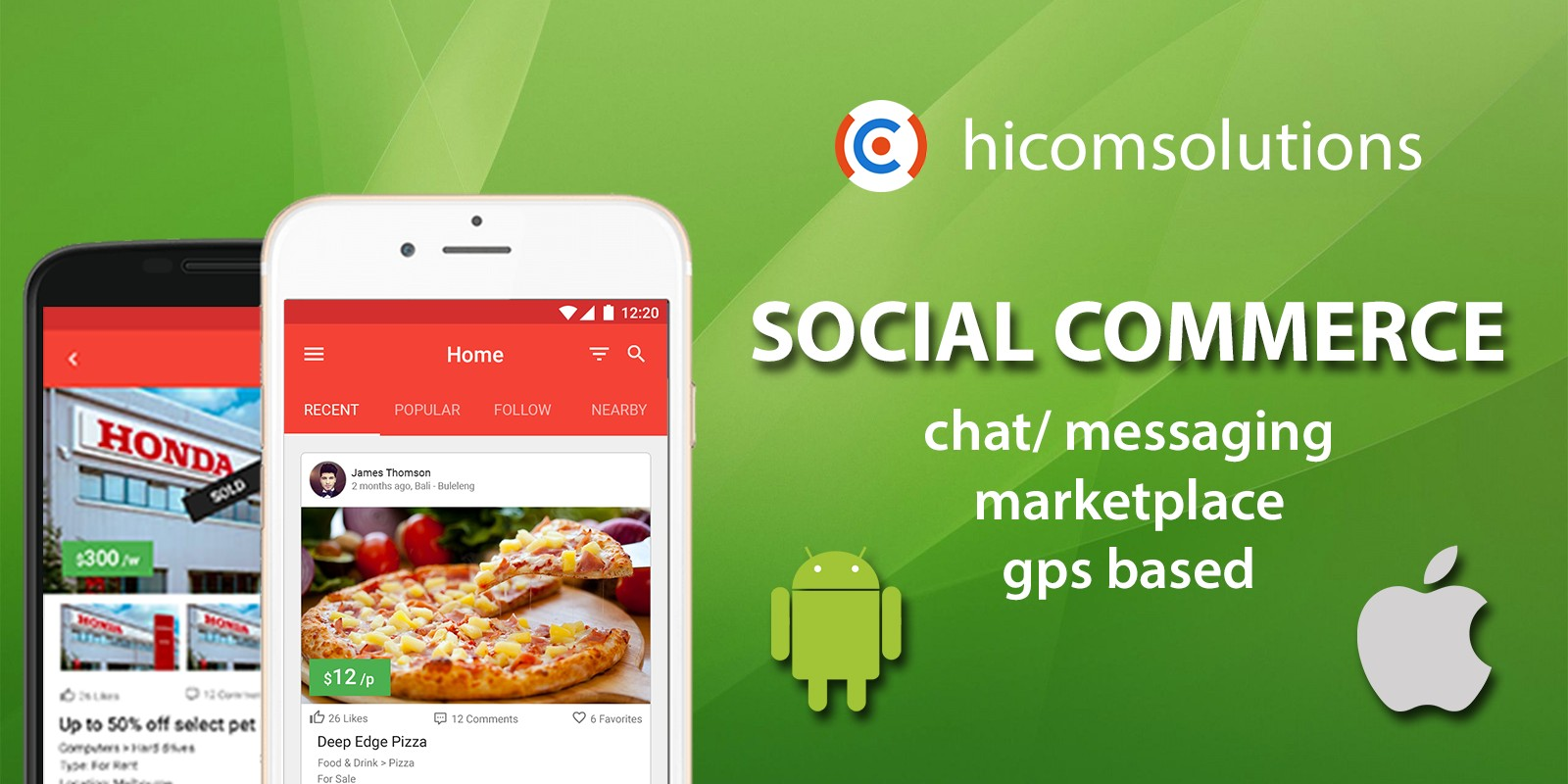 Social Commerce Marketplace - iOS App Template