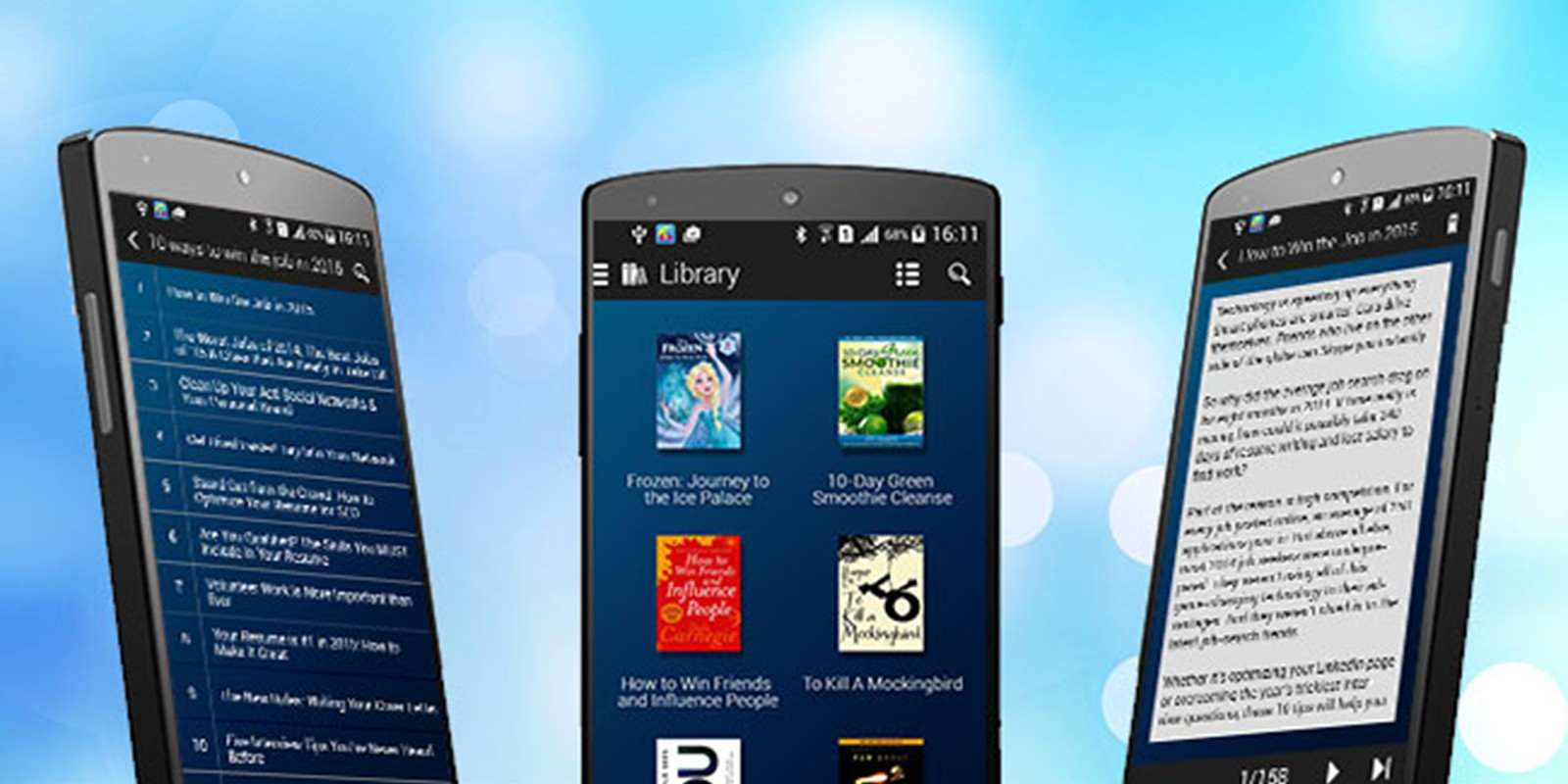 eBook Library - Android App Template - Miscellaneous App Templates ...