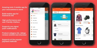 Ionic WooCommerce Mobile App