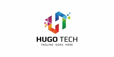 Hugo Tech - Logo Template