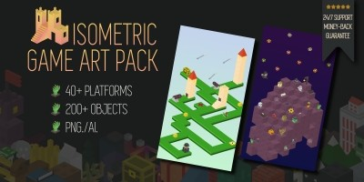Isometric Game Art Pack