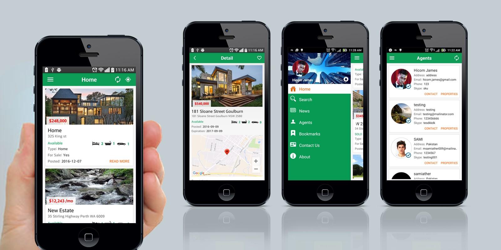 real estate social ios app source code miscellaneous app templates