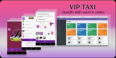 VIP Taxi - Android Source Code And Backend