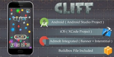 Cliff - Buildbox Template