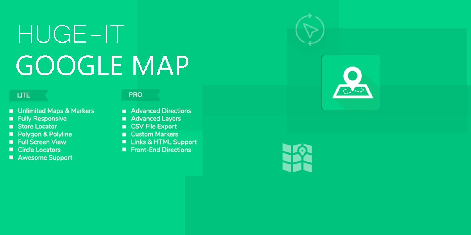 Google Maps - WordPress Plugin