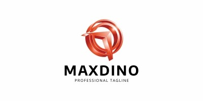 Maxdino Arrow Logo