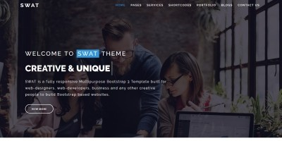 SWAT - Business HTML Template