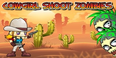 Cowgirl Shoot Zombies - Construct 2 Template