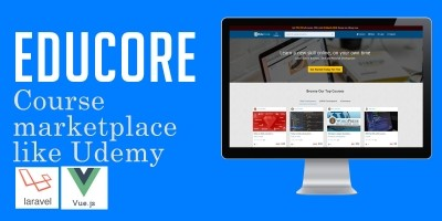 EduCore - Course Marketplace Script