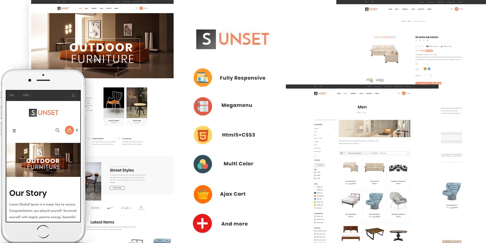 75fb25f3345a7 Ap Sunset - PrestaShop Theme
