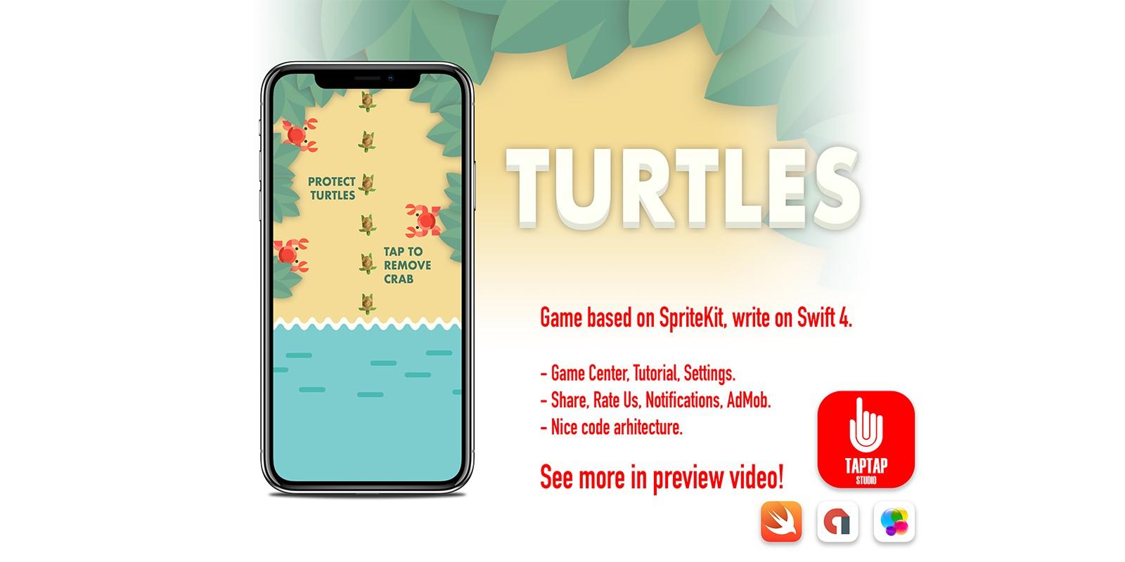 Turtles - iOS Game Source Code