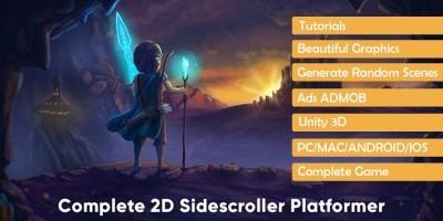Complete 2D Platformer - Unity Source Code