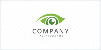 Leaf Eye - Logo Template