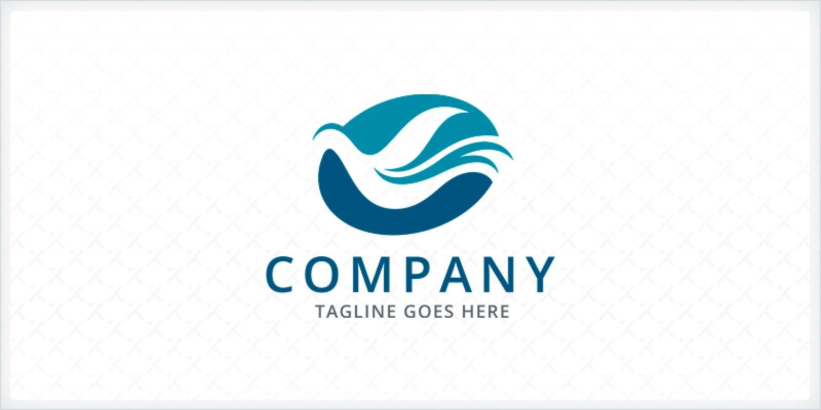 Stylized Bird - Logo Template