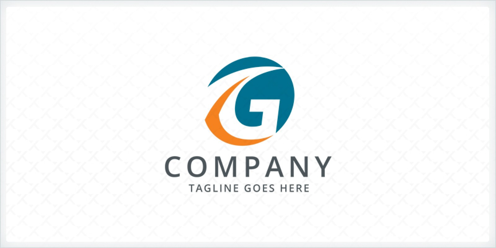 Letter G Path - Logo Template