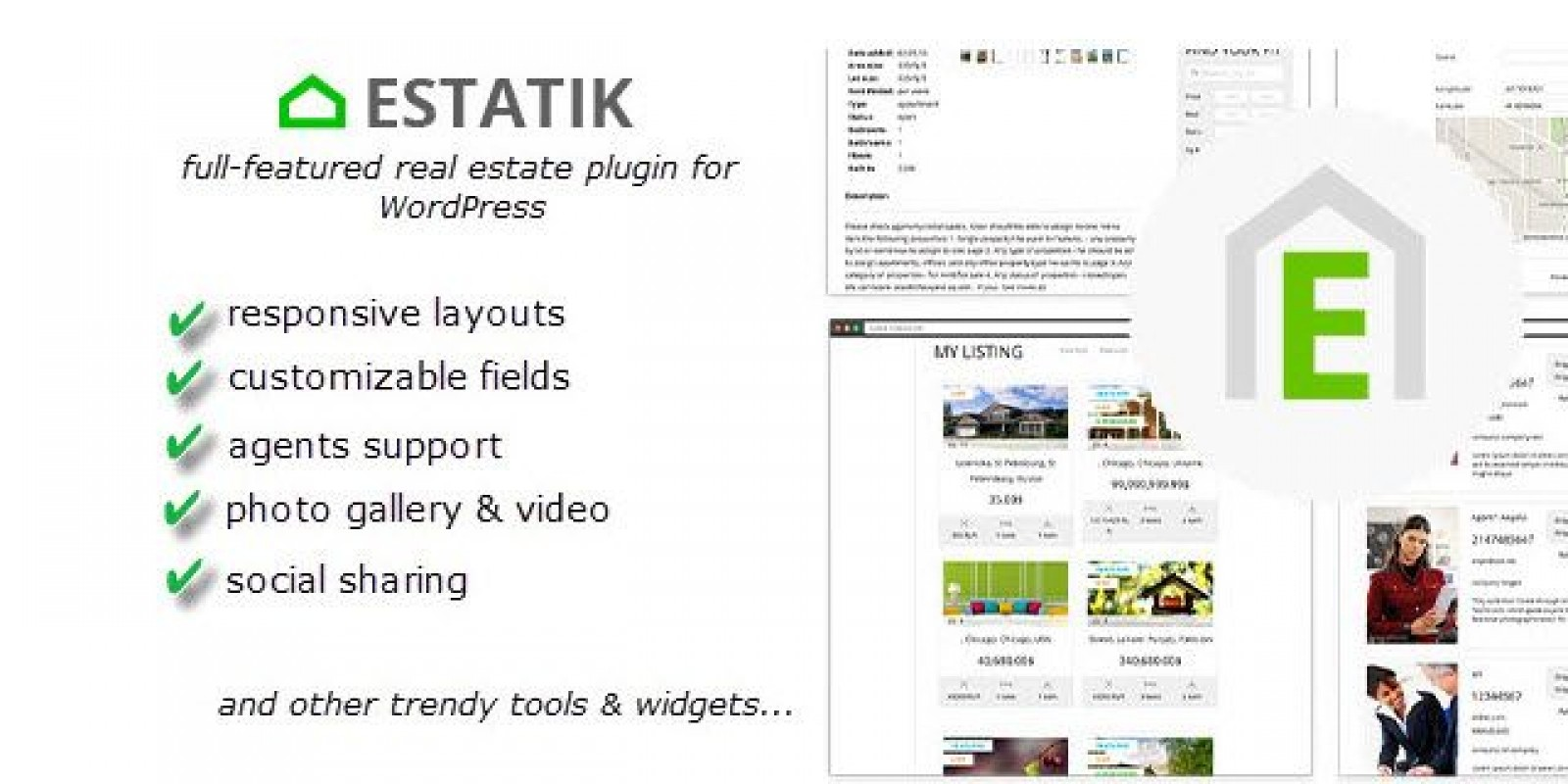 Estatik - Real Estate Plugin For Wordpress