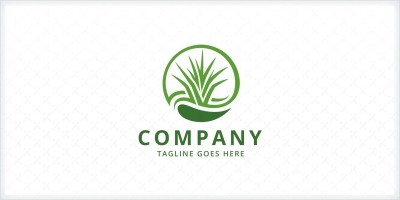 Turf Grass - Landscaping Logo Template