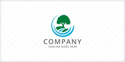 Landscape Tree - Logo Template