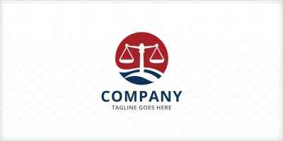 Legal Scale - Law Firm Logo